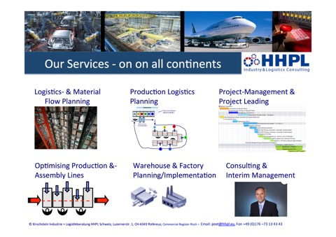 HHPL Services on all continents